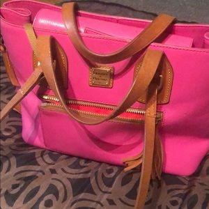 Pink Dooney and Bourke
